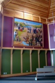 Army painting installed (2011).