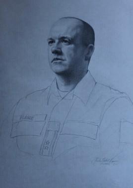 Portrait of Lieutenant Colonel Ingvar Seland