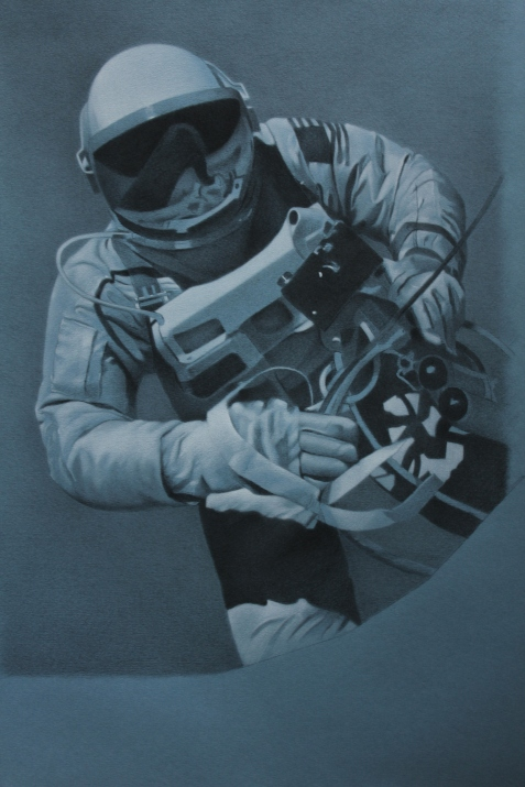 Astronaut, complete drawing