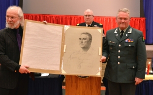 Presentation to Colonel Karl-Henrik Fossmann (2016)